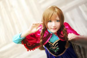 Good morning Princess Anna by meipikachu