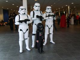 Mini Darth Vader by Elle-Ectricity