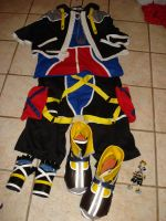 Complete Sora Costume by digital-strike