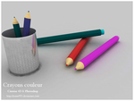 Crayons Couleur  V2 by issam991