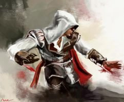 Ezio Auditore by Namecchan