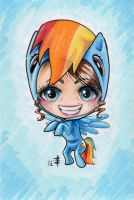 AO 2012 Commission - Rainbow Dash Suit by AnimeGirlMika