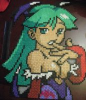 CvS portrait Morrigan Bead by VV-Weegee