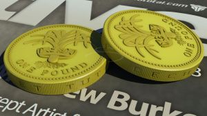 1 pound coin by rocneasta