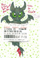 Httyd 2 Toothless Tickgets by Kittychan2005