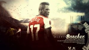 Alexis Sanchez Wallpaper by HkM-GraphicStudio