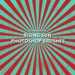 Rising Sun Photoshop Brush Pack by photoshophut