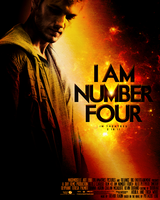 I am Number Four Movie Poster by mademoiselle-art