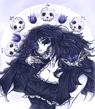 Death Is Whimsical Today by OpheliaNevermore