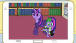 Pony Revolution: Twilight And Spike Photo by Roxor128