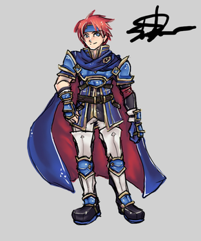 Heroes Roy by Shun-one