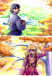 Golden days by rayn44