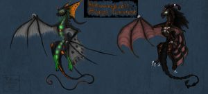 HLLWN Dragon Adopts -CLOSED- by Taluns