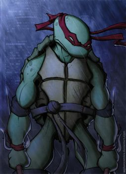 TMNT Raphael by RecklessHero