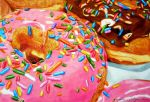Donut drawing by BarbieSpitzmuller