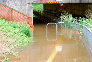 Underpass - Flooded by angelwillz