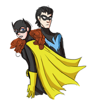 Babs and Dick by Lilykinz200
