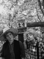 Tom Sawyer and Huck Finn cosplay by Bonasia