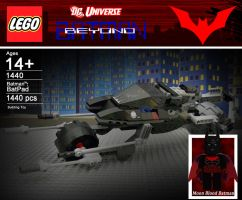 *NEW* Lego BatPod with Moon Blood Batman by hk-1440