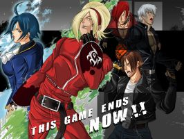 KOF XIII Wallpaper by JonathanBN