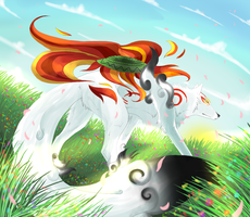 Amaterasu - Field of Sun by Zihur