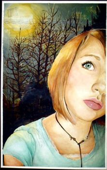 patience - a self portrait by mypaperairplane