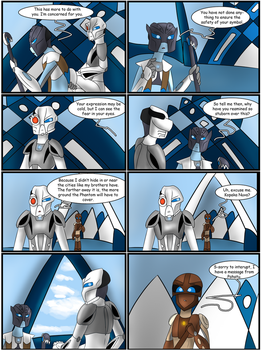 Hunters and Hunted Ch 5 Pg 31 by Saronicle