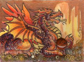 ACEO Dragon 10 by rachaelm5