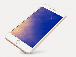 Misty-Star Wallpaper For iPhone 6 and 6 Plus by kiwimanjaro