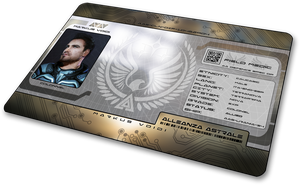 Starcitizen Alleanza Astrale ID card by n-a-i-m-a