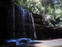 Upper Caney Creek Falls by Eco-Cate