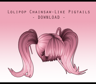 Lolipop Chainsaw-Like Pigtails [ DOWNLOAD ] by Avant-Garde3D