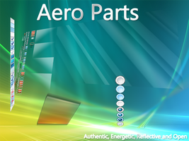 Windows Aero Glass Parts by vistaaero