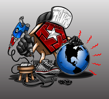 TRIBAL ICON WORLDWIDE by BROWN73