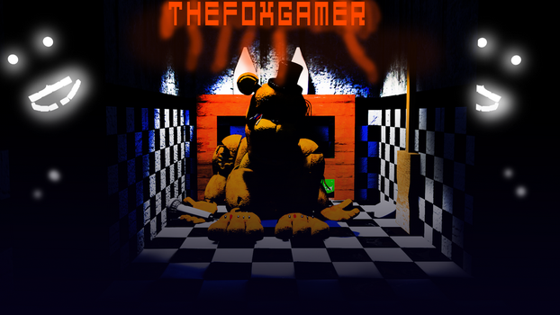 |C4D|FNAF|Golden Freddys| by TheFoxGamerOfficial2