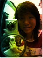 my photo in rainbow color by L-TheWindGirl