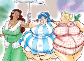 Gluttonous Girls' Day Out by kawaiidebu