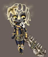 Oh little Sylvari how I  Ioves you by FigureEight