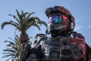 Well Played: EB Expo 2013 - Master Chief #1 by magicmissilestudios