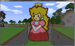 Princess Peach -Paper Mario- by LostxInxShados