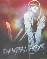 EDIT: BTS V by chazzief