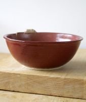 Ruby red mouse bowl by scarlet1800