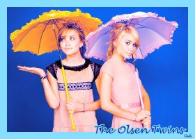 The Olsen Twins by GadeChii