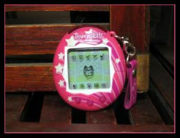 Pink Star Tamagotchi by SincerelyStephanie