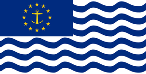 EU Naval Ensign by Rory-The-Lion