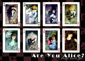 Are You Alice? - Poker Set by curionenene