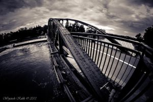 Spooky bridge by Maxikq