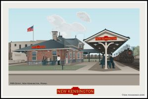 New Kensington Station by yankeedog