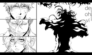 Bleach 625 - Lineart by DEOHVI