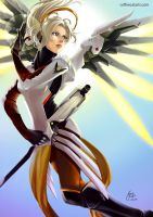 Overwatch - Mercy by CoffeeCat-J